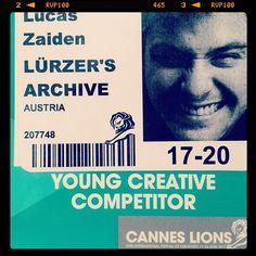 Instagram pic via @LucasZaiden #CannesLions