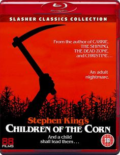 CHILDREN OF THE CORN BLU-RAY 88 FILMS SLASHER CLASSICS COLLECTION SPINE #13