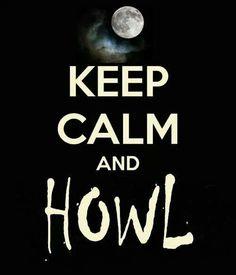 Aaaaaaaooooooohhhhh!!!! I can bark, howl and growl all I need is makeup to be a werewolf. -Christel Fine