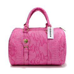 Look Here! Coach Embossed Medium Pink Luggage Bags DEI Outlet Online Summer Outfits,fashion designer bags for ladies,Coach handbags are the best! Handbags 2014, Coach Handbags, Coach Purses, Purses And Bags, Designer Handbags, Designer Bags, Pink Luggage, Luggage Bags, Coach Luggage