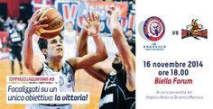 16 novembre Pala Forum Biella