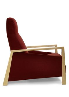 Nikko Recliner Lounge Chair (#T2013) by Therien   occasional chairs   Dessin Fournir Companies