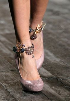 Accessories fashion jewelry heels glamourous  Bling! fashion jewelry shoes / anklet bracelets accessories trend bangles bling Ladies / women fashion styles. OMG!!