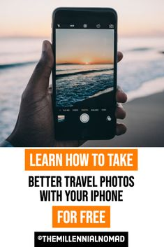 Do you want to learn how to take better travel photos with your iPhone? Learn what simple techniques and editing tricks to use to make your photos pop in this FREE training. #onlinetraining #photographycourse #photographyforbeginners #iphonephotography #learnphotography #photographytips