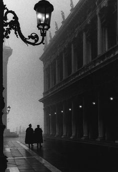 """San Marco Square, Venice"" 1954, photo by Italian photographer GIANNI BERENGO GARDIN (born 1930)"