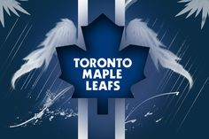 Toronto Maple Leafs- Wallpaper by NoobyJake on DeviantArt Toronto Maple Leafs Logo, Toronto Maple Leafs Wallpaper, Hockey Mom, Ice Hockey, Hockey Girls, Maple Leafs Hockey, 2017 Wallpaper, Pittsburgh Penguins Hockey, National Hockey League