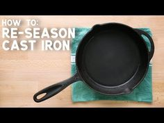 At the campsite or in your home kitchen, cast iron is the workhorse cookware you need. Learn everything you need to know about cooking with, cleaning, and seasoning cast iron so that it will be the first pan you reach for year after year. Backpacking Food, Camping Meals, Reseason Cast Iron, Skillet Meals, Skillet Recipes, Cleaning Cast Iron Pans, Restore Cast Iron, Season Cast Iron Skillet, Cast Iron Care