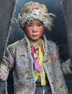 In Tibet. I would make a board just for this kid. It mesmerise me... I can't tell why