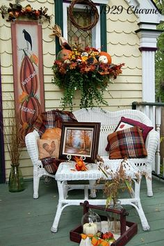 Five Fabulous Fall Porches | The Cottage Market