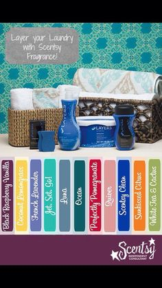Scentsy Laundry Care Fragrances: Spring/Summer 2015 #scentsbykris