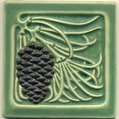 Modern tiles in the Craftsman tradition. RavenStone Tiles