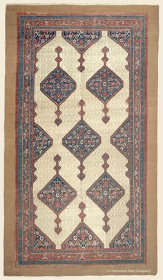 SERAB CAMELHAIR, Northwest Persian Antique  Late 19th Century Rug 6ft 10in x 12ft 10in —Claremont Rug Company