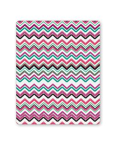 Zig Zag Lines Pattern Mouse Pad