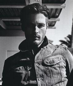 Denim jacket jeans fashion men tumblr - vintage 7
