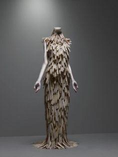 Vestido de conchas