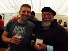 My new friend, Didi, from Germany at the  Doolin Folk Festival County Clare.