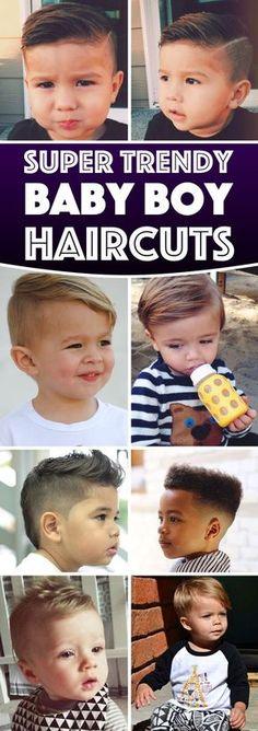 Des idées coiffures pour nos petits hommes :) #coiffure #garçon #babyboy #cheveux #cheveuxcourts #enfant #bébé #inspiration