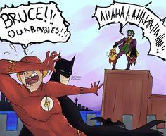 Bat Flash Kids by ~aiconx on deviantART