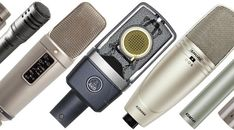 Here is a roundup of the best microphones for recording acoustic guitars.