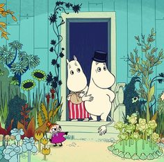 Tove Jansson, Illustrations, Children's Book Illustration, Botanical Illustration, Moomin Books, Moomin Mugs, Les Moomins, Yule, Flame Tree