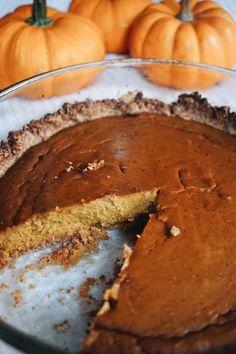 Pumpkin Pie. {Gluten-Free Recipe}