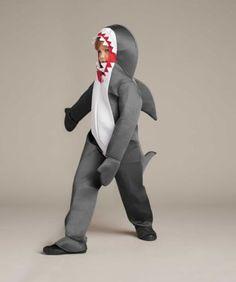 Great White Shark Costume for Kids   Chasing Fireflies