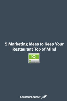 With so many choices out there, how do you cut through the multitude of competing messages to ensure that your restaurant will stand out from the throng? This article explores key trends that will help you overcome the competition.