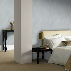Premier Grey Interlace Wallpaper | Debenhams