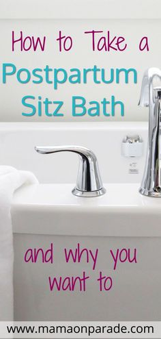 How to Take a Postpartum Sitz Bath A postpartum sitz bath is one of the best ways that you can help to heal during your postpartum recovery. Healing after childbirth is no easy task, but taking a postpartum sitz bath will make your postpartum care so much Sitz Bath Postpartum, Postpartum Body, Postpartum Care, Postpartum Recovery, Postpartum Depression, First Pregnancy, Pregnancy Tips, Thing 1, Anxiety In Children