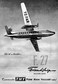 Turk Hava Yollari - Turkish Airlines Fokker F-27