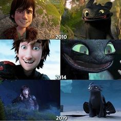 Hiccup and Toothless Httyd Dragons, Dreamworks Dragons, Disney And Dreamworks, Httyd 3, Toothless Dragon, Hiccup And Toothless, Toothless Funny, How To Train Dragon, How To Train Your