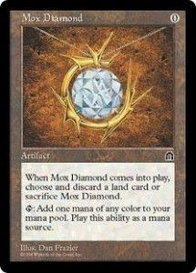 Old School Magic: Stronghold the Return of the Moxen... The Return of A Mox... But it has a cost... The beginning of Mox lite?