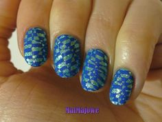 Mind blowing stamping with B. Loves Plates 03 on the glitter base of Barry M Catwalk Queen Op Art, Nailart, Barry M, Mind Blown, Catwalk, Iris, Stamping, Glitter, Coats