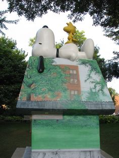 Snoopy and Woodstock at the Minnesota State Fair