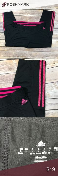 Adidas Climalite crop leggings adidas Climalite crops.  Very good condition. Adidas Pants Capris