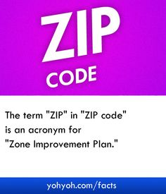 Full Form Of ZIP In Zipcode
