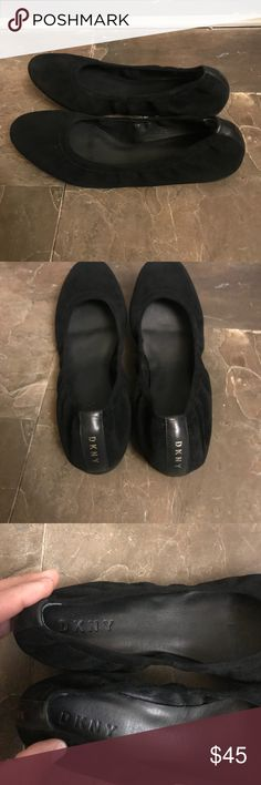 DNKY Black Ballet Flats Welcome to Blessed Kicks! Brand new without box! Happy bidding and have a blessed day! Dkny Shoes Flats & Loafers