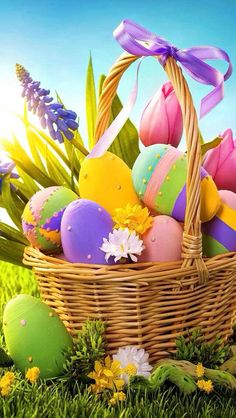 . Easter Art, Easter Crafts, Easter Eggs, Ostern Wallpaper, Easter Bunny Pictures, Happy Birthday Flower, Easter Religious, Easter Wishes, Diy Ostern