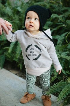 This sweatshirt is so cozy, definitely a must have for any baby! Its very soft and comfortable. Perfect for colder weather to go under a jacket and