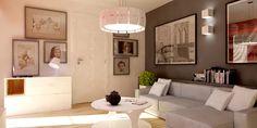 obraz za kanapą, kolory - ideał salonu