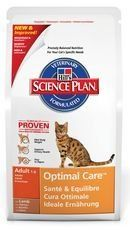 Hill's Science Plan Feline Optimal Care Adult Lamb 2kg -- Check this useful article by going to the link at the image. #CatFood