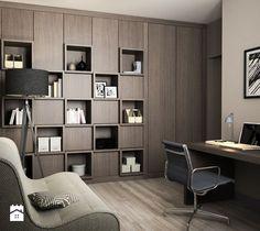 Projekt wnętrz mieszkania - Gabinet, styl nowoczesny - zdjęcie od ARCHISSIMA