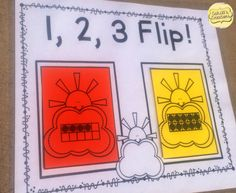 Kids LOVE playing this in math centers!  Have fun while comparing numbers 0-20! https://www.teacherspayteachers.com/Product/Comparing-Numbers-1-20-Spring-Theme-1762828