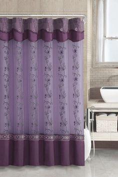 Lavender Pleats Shower Curtain Purple X Httpwwwtarget - Purple and gold shower curtain