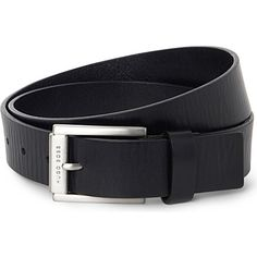 HUGO BOSS Logo buckle belt (Black