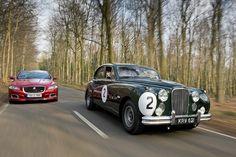 Jaguar Magnesium MkVII and current XJR
