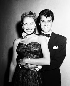 Janet Leigh and Tony Curtis by Murray Garrett