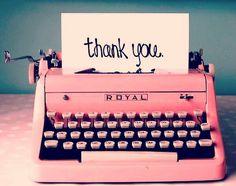 #MáquinaDeEscribir #ThankYou #