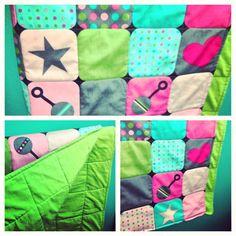 Handmade baby blanket  www.KnotSewKrazy.etsy.com www.facebook.com/KnotSewKrazy