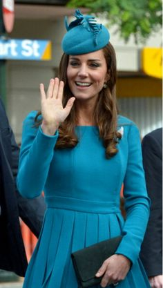 Duchess of Cambridge, April 13, 2014 in Jane Taylor | The Royal Hats Blog